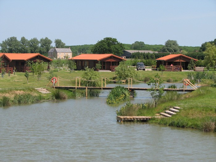 Lakeside lodges, coarse fishing lake exclusive for our holiday guests