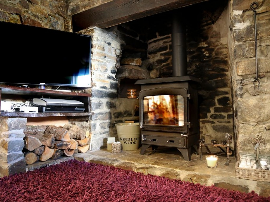 Cottage with Log Burner