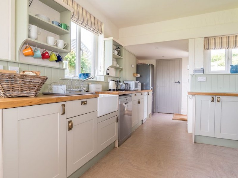 Bright Airy Kitchen