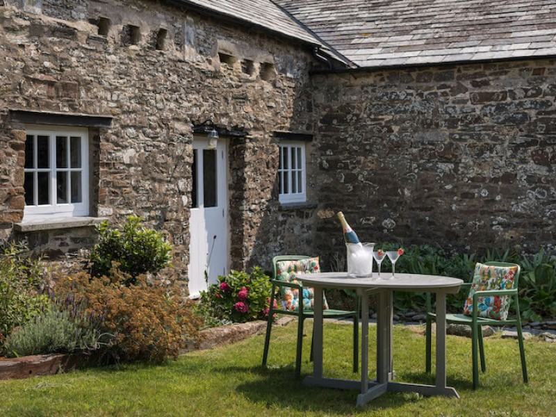 The North Wing At Trevigue Farmhouse