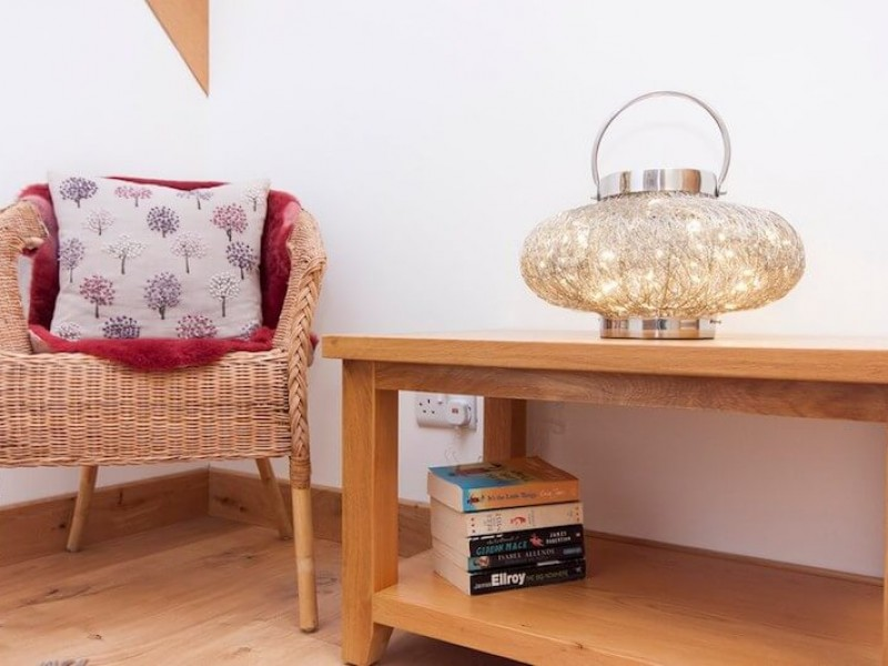 Corners to relax and read