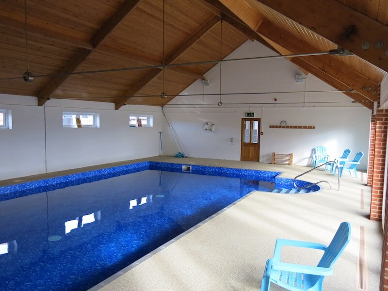 The Felbrigg - shared indoor pool