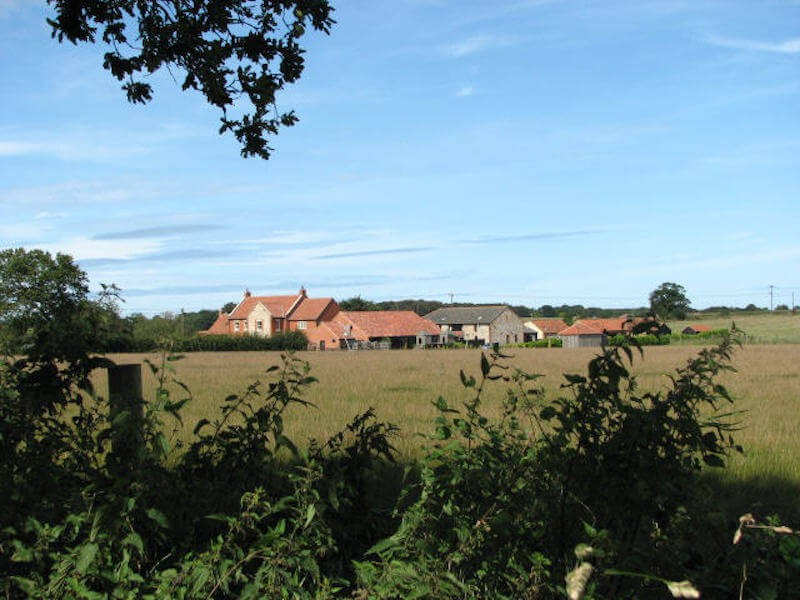 The Felbrigg farm view AONB