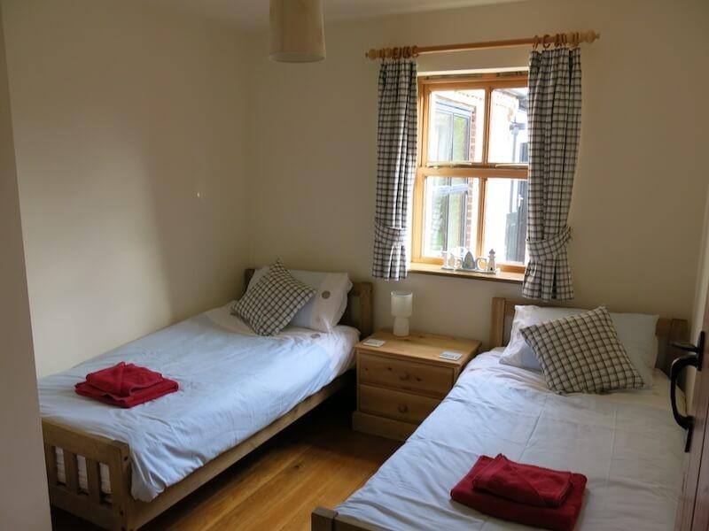 The Felbrigg twin room