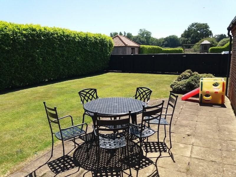 The Felbrigg private enclosed garden