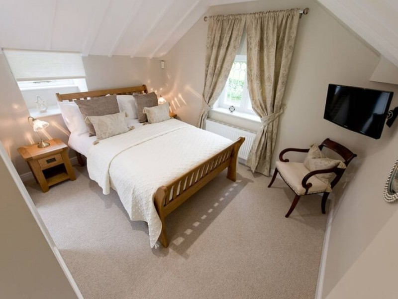 Spaciaous Double Room