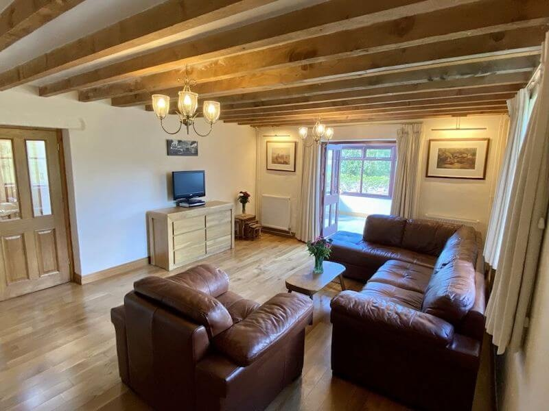 Trysor Holiday Cottage Lounge