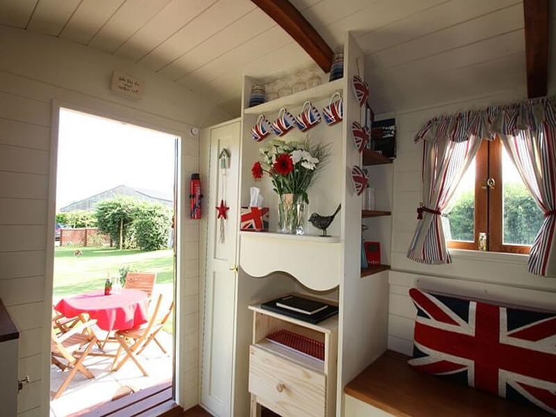 Inside the Showmans Wagon