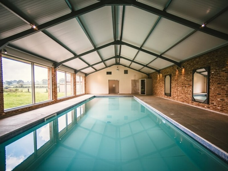 Swimming Pool at Launceston Farmhouse