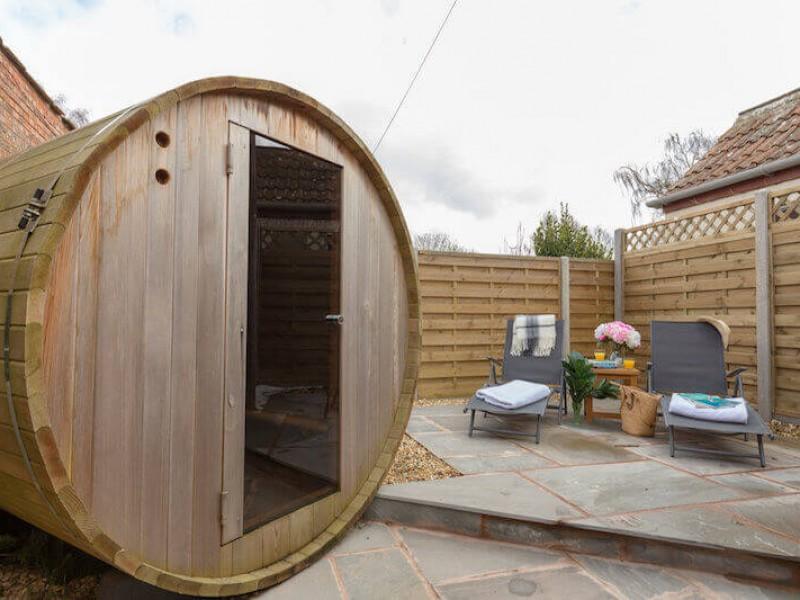 Sauna at Walnut Arbour