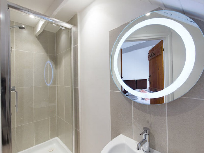Bathroom at Walnut Arbour