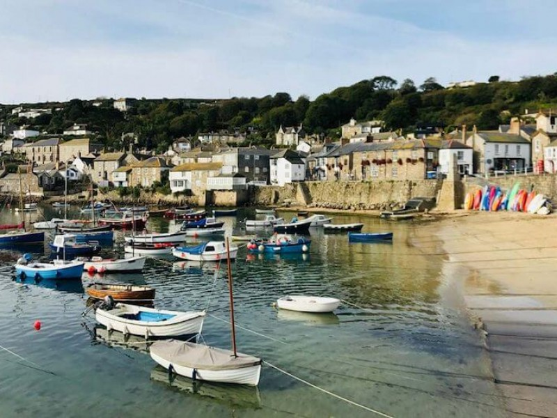 St Clement's House, Mousehole, Cornwall
