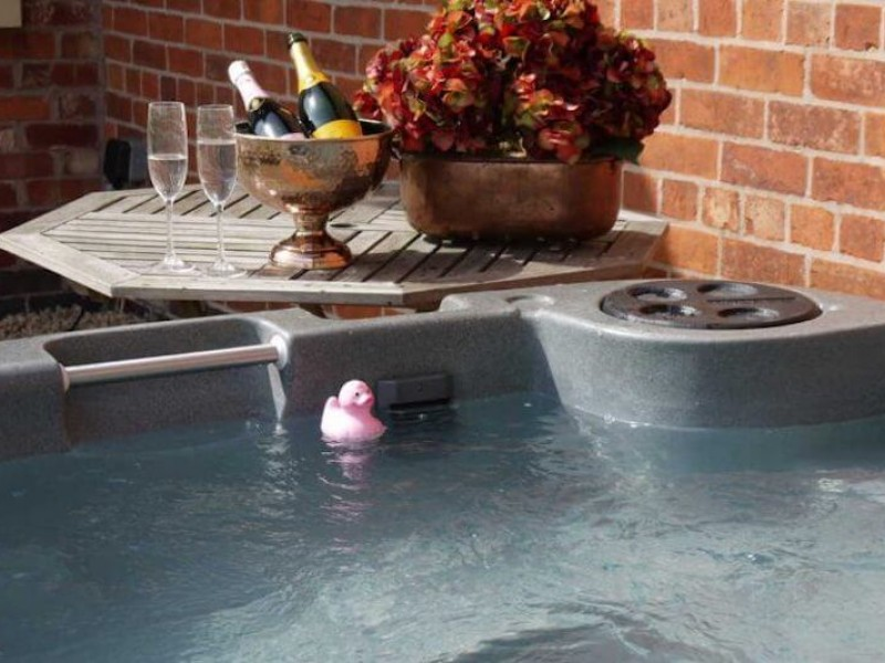 Hot Tub Hire available at Newborough Cottages