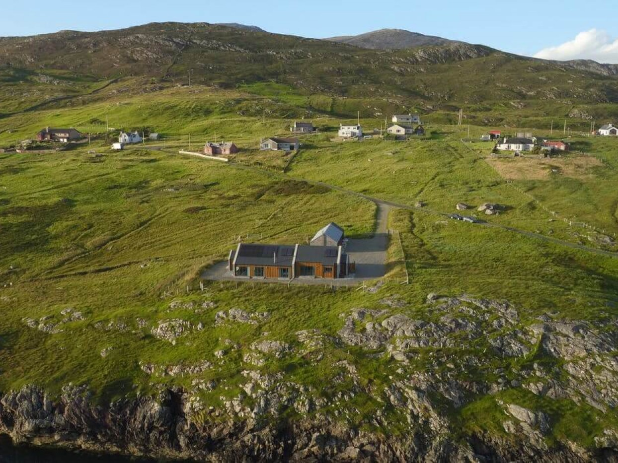 The Big House At Sound Of Harris