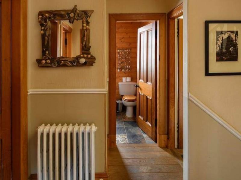 Main hall and middle bathroom