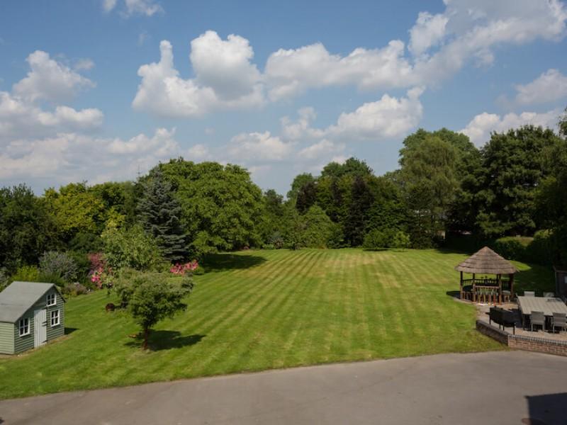 Huge private Garden