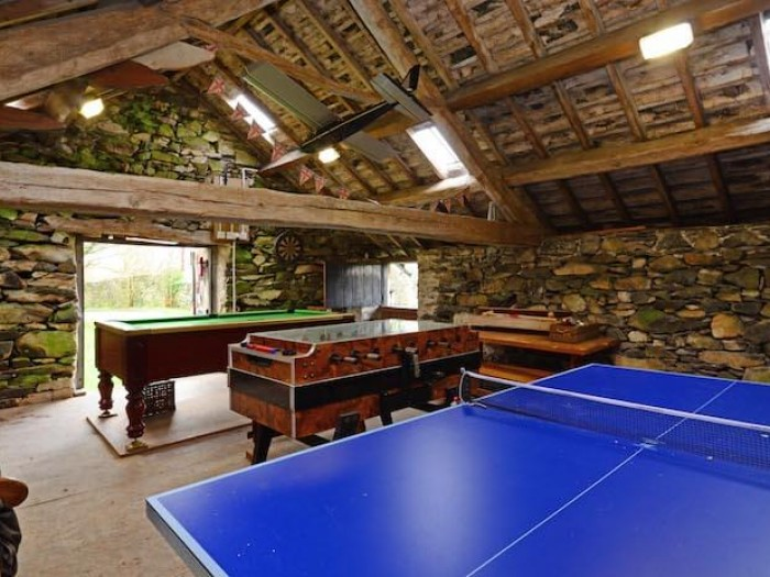 Games room, table tennis pool footbal
