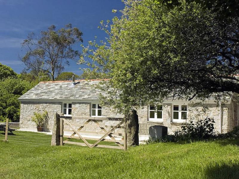 The New Barn At Little Pengelly Farm
