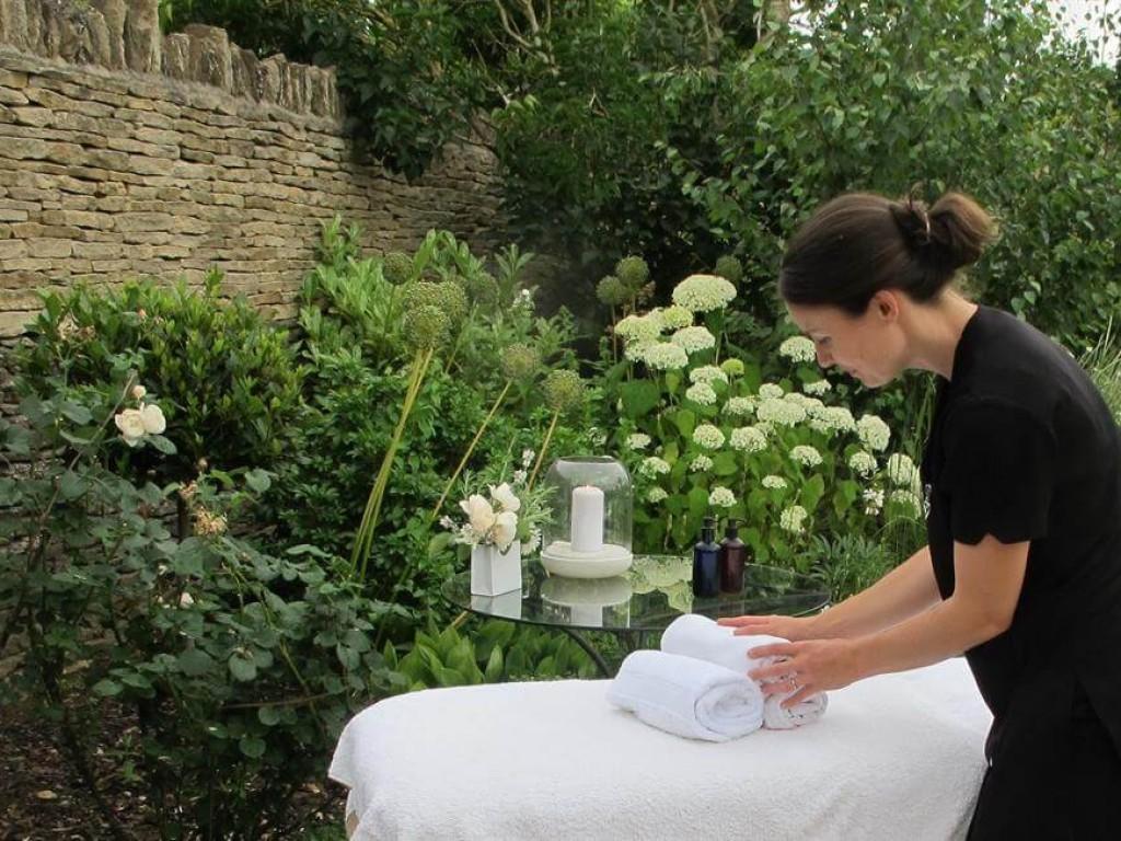 Enjoy a massage at the cottage
