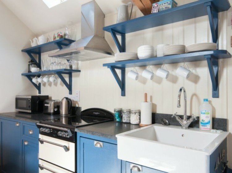 Bright, well equipped Kitchen