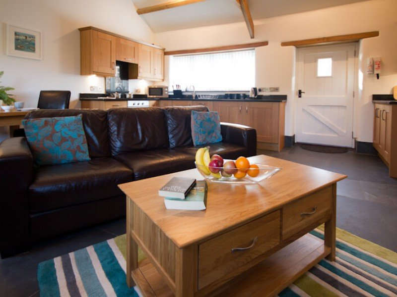 Yew Tree Barn At Fenteroon Farm Holiday Cottages