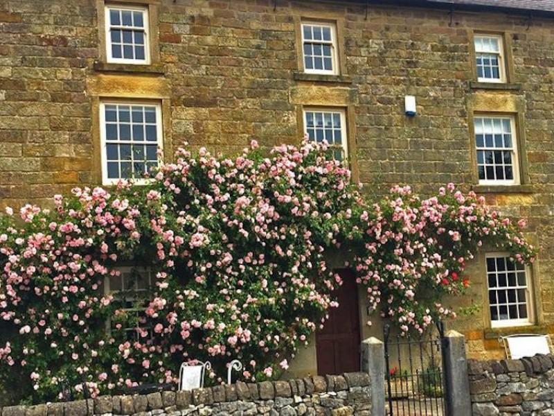 Exterior of Shiningford Manor