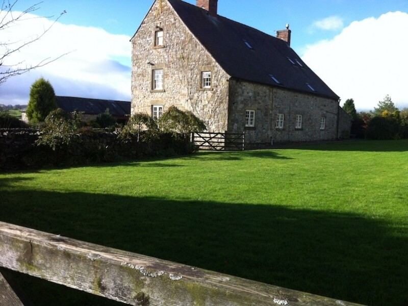 Shiningford Manor and garden