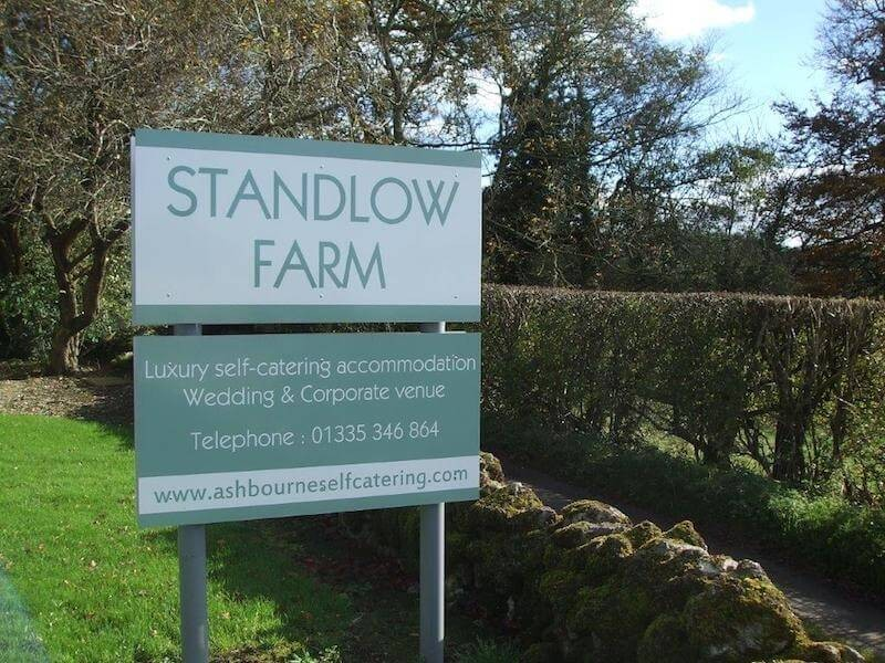 Standlow Farm can sleep up to 45 guests in total