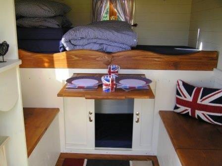 Inside the Showman's Wagon