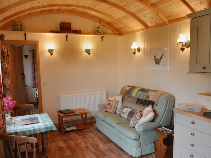Shepherds Lodge At Morrells Wood Farm
