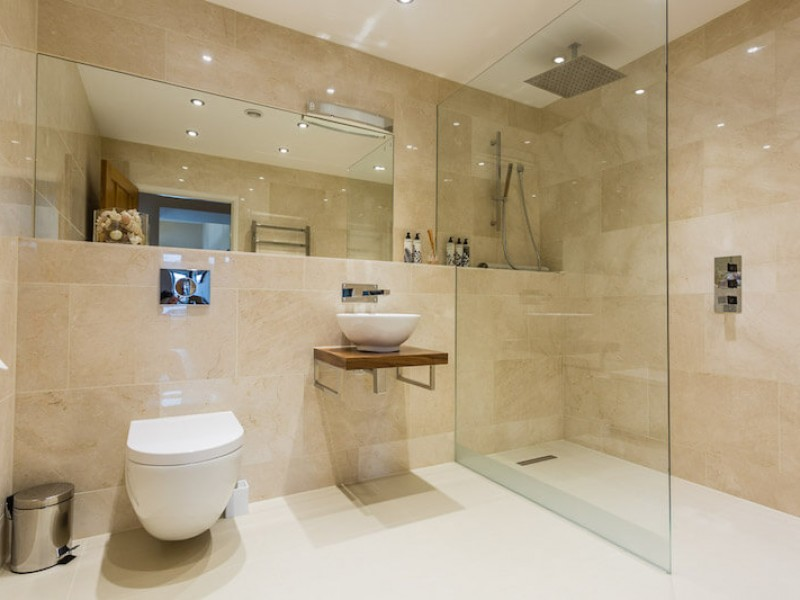 Stunning bath and shower rooms - every bedroom is ensuite