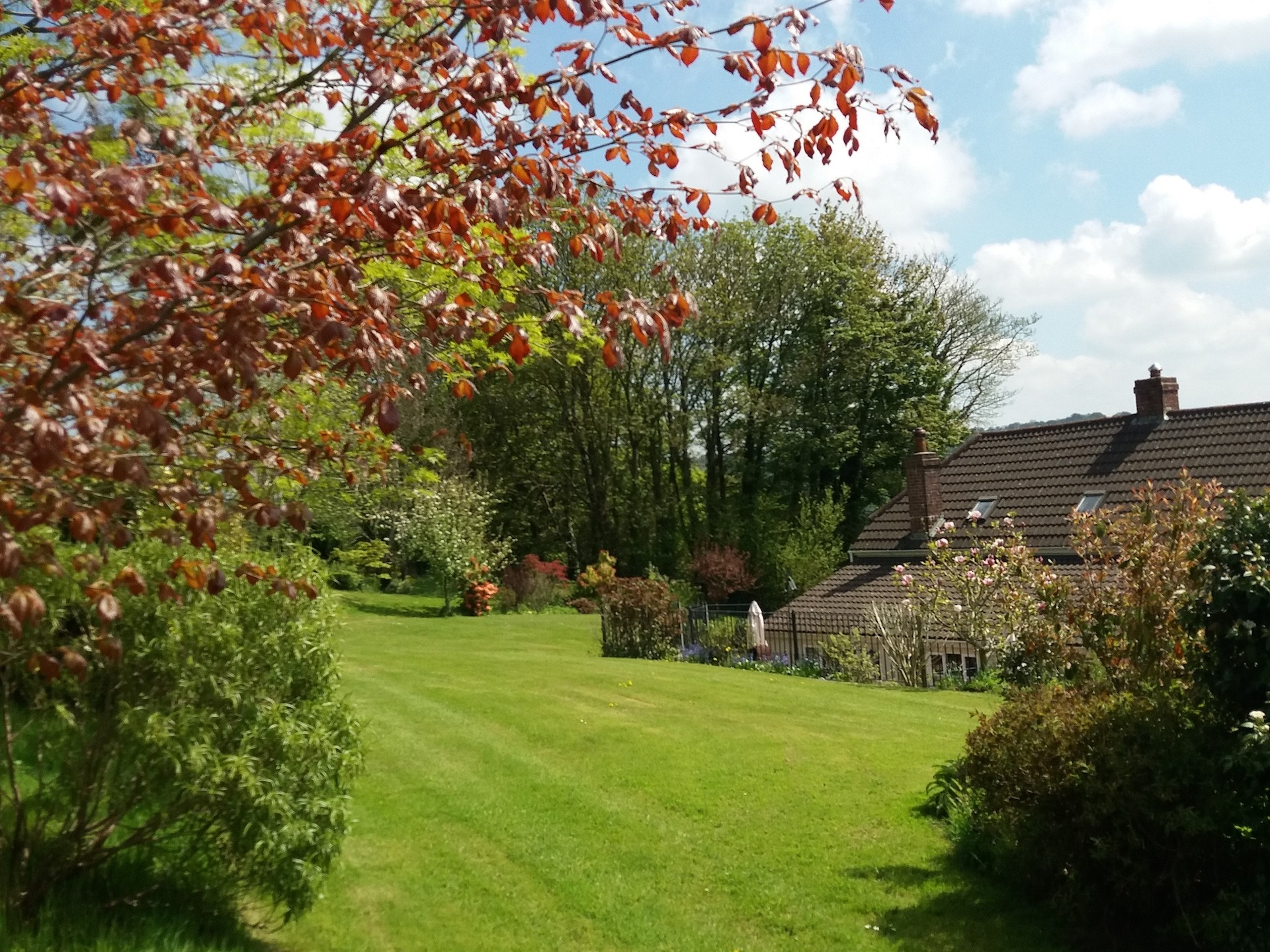 Gardens at Odle Farm Holiday cottages