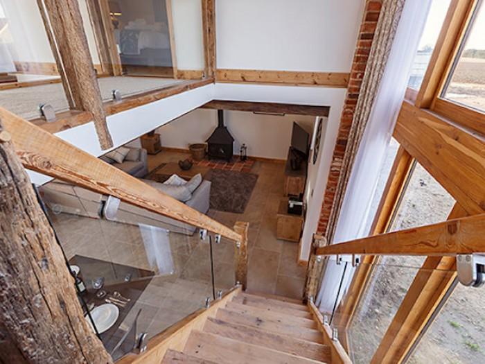 Nichols Barn Stairs