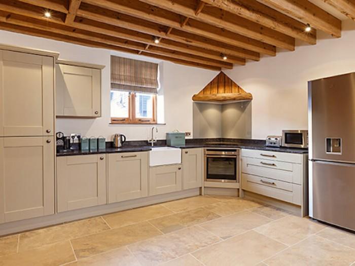 Platford Barn Kitchen Area