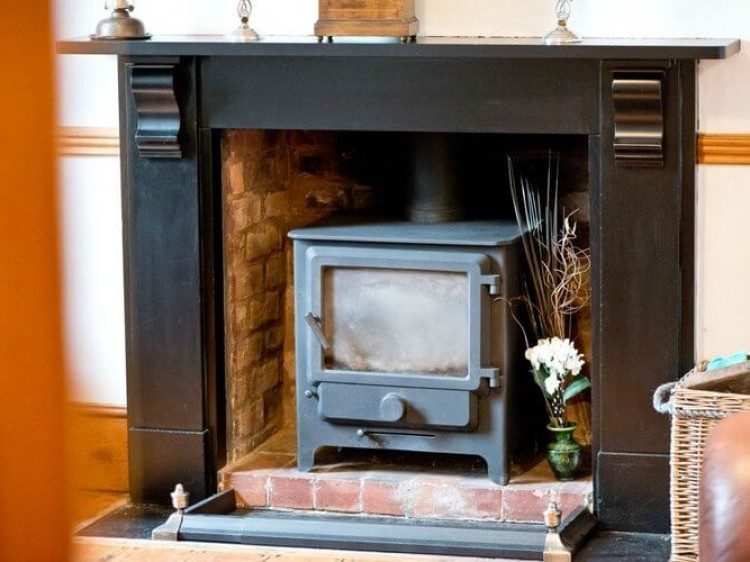 Enjoy the wood Burner in the dining room