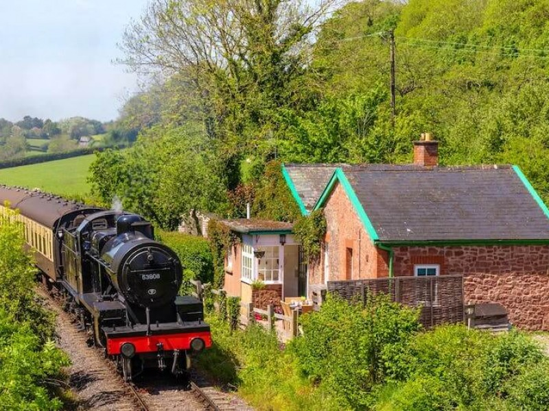 Railway Cottage At Lavender Hill Holidays