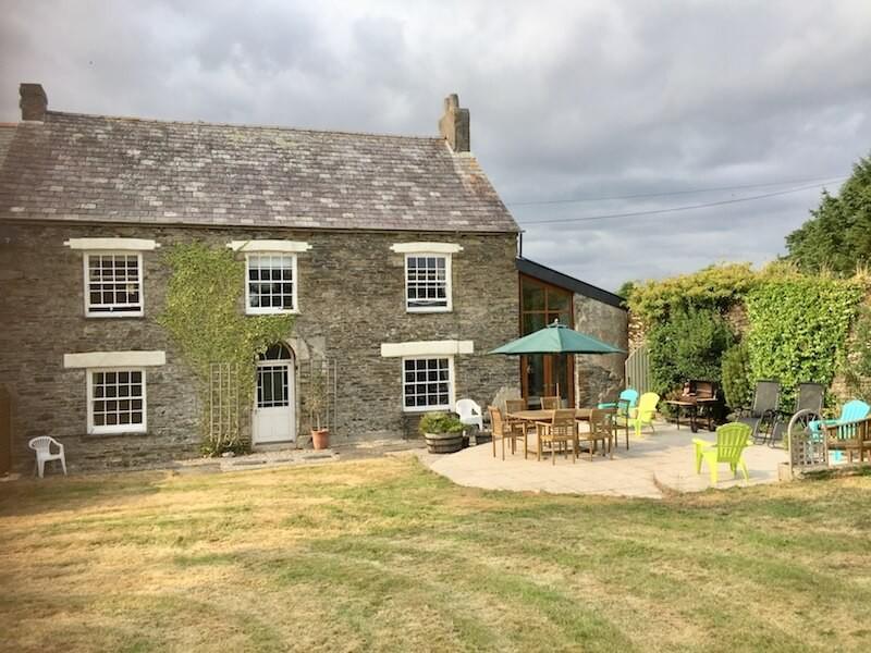 The Old Farmhouse At Polean Farm Cottages
