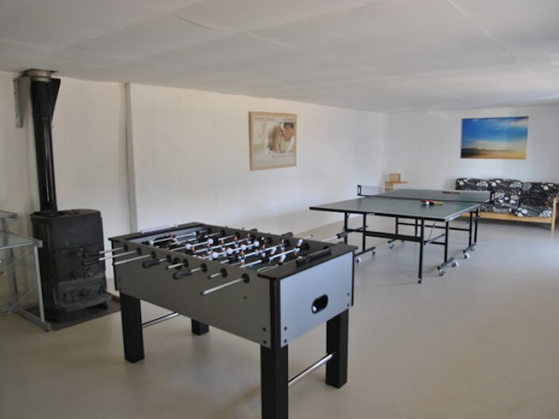 Games Room at Courtyard Barn
