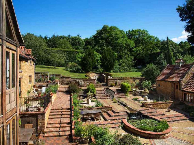 Overview of Courtyard From Cobnut