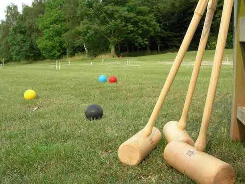 Croquet & Games  Lawn at Heath Farm