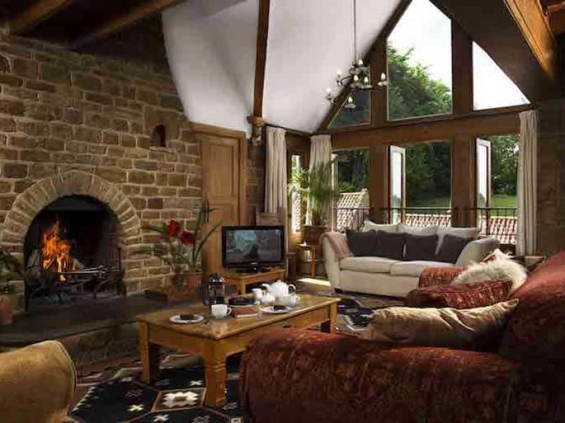 Walnut Living Room Area