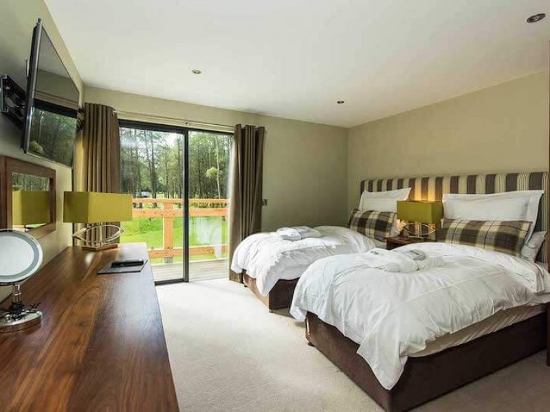 Badger Lodge At Studford Luxury Lodges