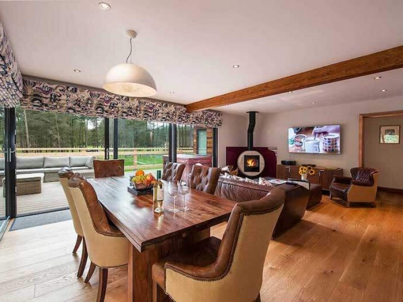 Hedgehog Lodge At Studford Luxury Lodges
