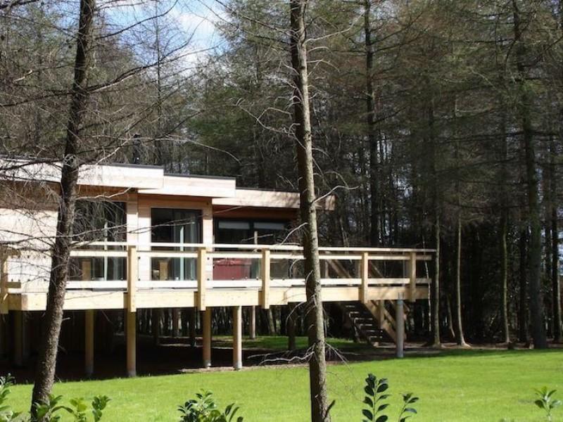 Vixen Lodge At Studford Luxury Lodges