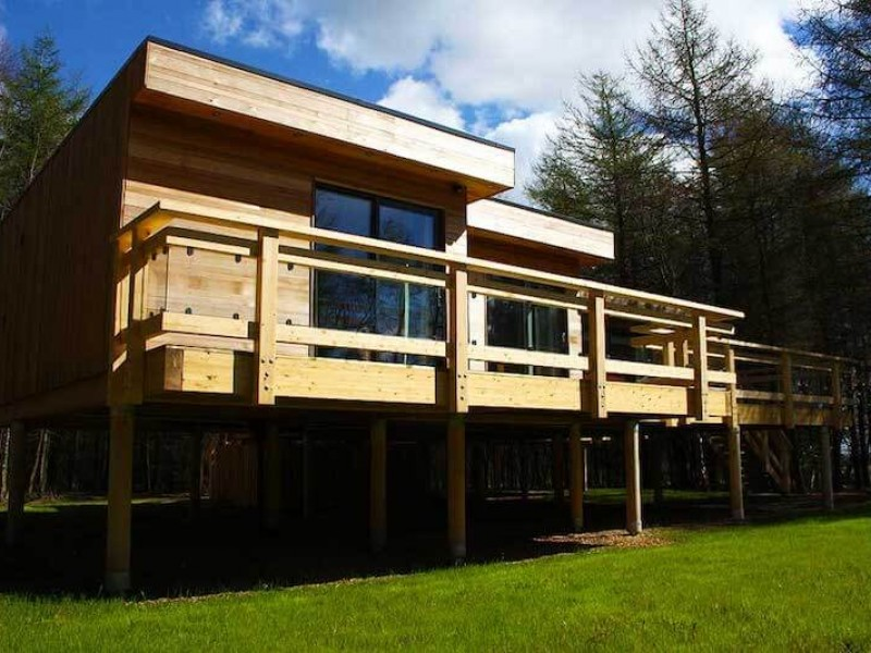 Woodpecker Lodge At Studford Luxury Lodges