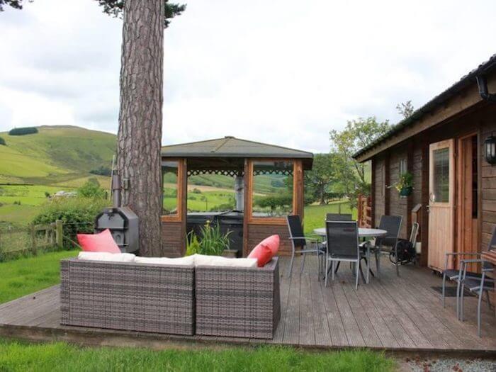 Cabin Berwyn At Maengwynedd Log Cabins