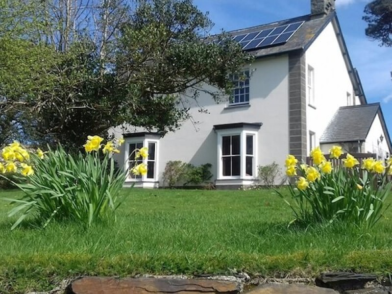 Main House At Pentre Bach Holiday Cottages