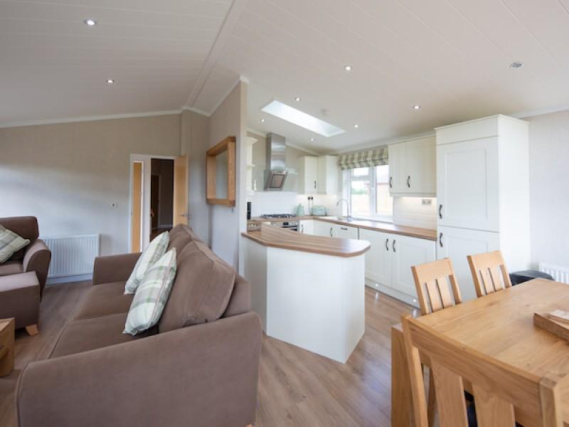 Primrose Three Bedroom Lodge At Athelington Hall