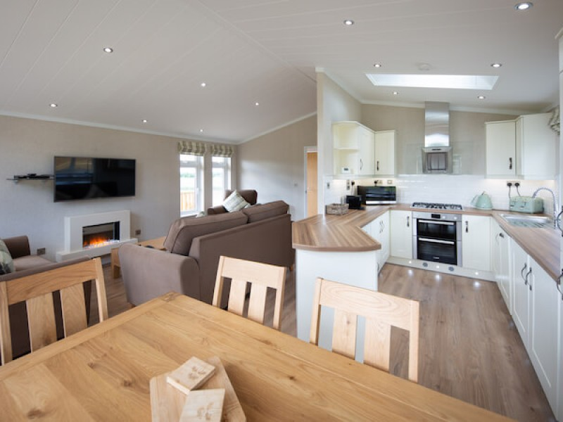 Primrose Three Bedroom Lodge At Athelington Hall