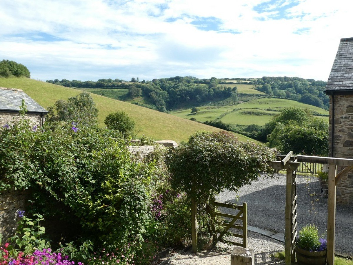 View from Nutcombe Cottage at Nutcombe Holiday Cottages